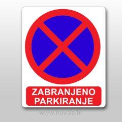 Naljepnica Zabranjeno parkiranje