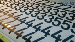 naljepnice brojevi za kampove hotele