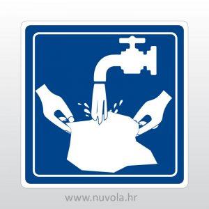 Naljepnica Voda za pranje veša