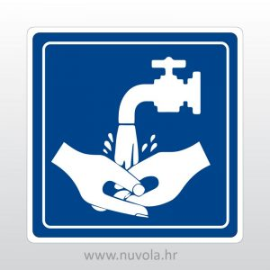 Naljepnica Voda za pranje ruku