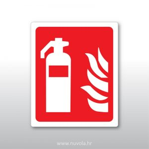 Naljepnica – mjesto za vatrogasni aparat