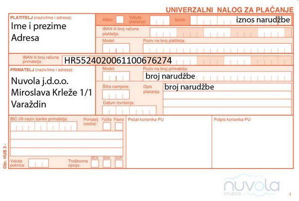 Uplatnica Nuvola600