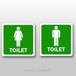 WC set muški i ženski
