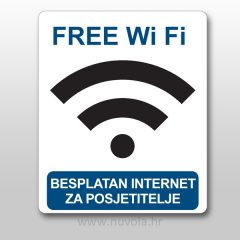 Naljepnica besplatan internet