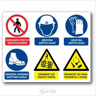 Građevinska tabla ploča za gradilište