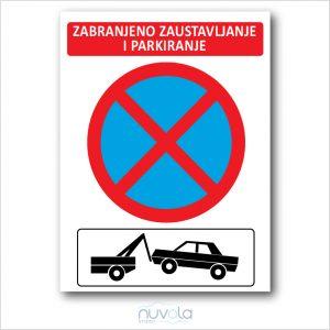 znak zabranjeno parkiranje