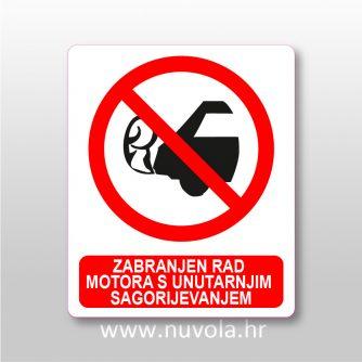 Zabranjen rad motora sa unutarnjim sagorijevanjem