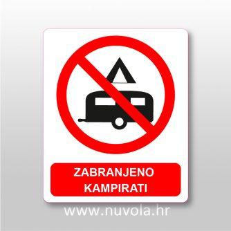 Zabranjeno kampirati