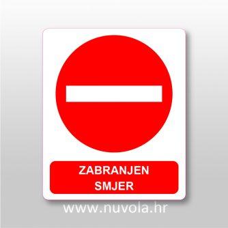 Zabranjen smjer