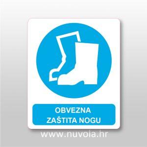 Obvezna zaštita nogu