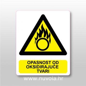 Opasnost od oksidirajuće tvari