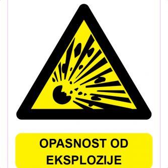 Opasnost od eksplozije