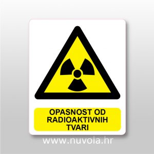 Opasnost od radioaktivnih tvari