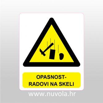 Opasnost - radovi na skeli