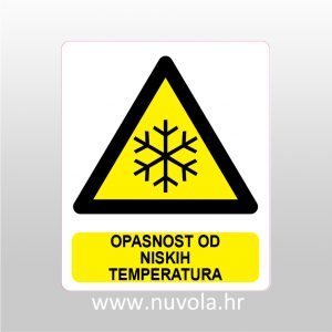 Opasnost od niskih temperatura