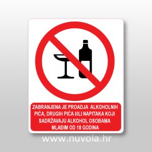 Zabranjena prodaja alkohola mlađim od 18 godina
