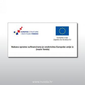 Nabava opreme sufinancirana je sredstvima Europske unije iz