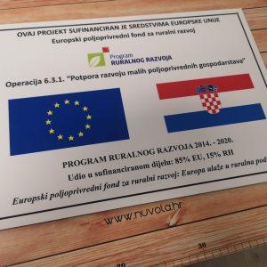 Trajna ploča (tabla) za EU projekte