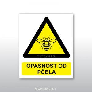 Tabla ploča Opasnost od pčela