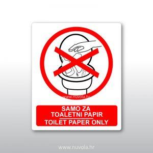 Samo za toaletni papir